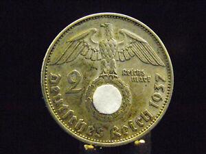 - M.F.B - Dt. Reich 3.Reich - 2 Reichsmark 1937 E - in ss / vz   2