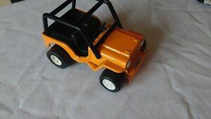 1960s Vintage Tonka Toy CJ Jeep Made in Toronto Canada Orange