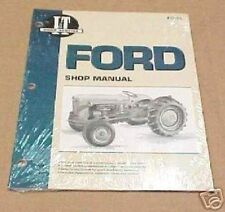 Ford Naa Jubilee Tractor I & T Shop Repair Manual Fo19