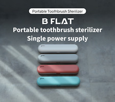 B Flat Portable Toothbrush Sterilizer Single Power, UV Ozone Sterilization