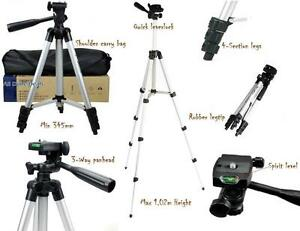 1.02M Universal Camera Camcorder Tripod Stand - Canon Nikon Sony Fuji Panasonic