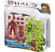 Mega Bloks Halo Spartan Customizer Pack Minifigure Set #97541