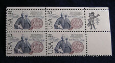 SCOTT # 2036 US-Sweden Issue United States U.S. Stamps MNH - Zip Block of 4