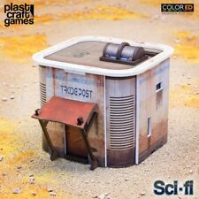 Plast Craft Games Colored Consortium Tradepost Sci-Fi Infinity box new