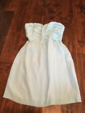 Rebecca Taylor Mint Green Sweetheart Strapless Dress, Size 8, NWT! $325