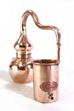 CopperGarden® Alembik Destille ❀ 0,5L = legal in Deutschland ❀ Schnapsbrennerei