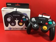 Nintendo Gamecube GC Controller Pad Black With box USED F/S JAPAN In Stock