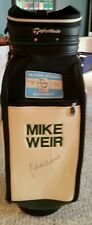 Mike Weir Autographed Taylormade  full size golf bag  04 season open 1/2