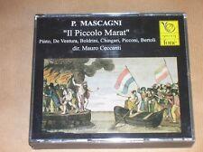 2 CD RARES AVEC LIVRET / IL PICCOLO MARAT / MASCAGNI / MAURO CECCANTI / TB ETAT