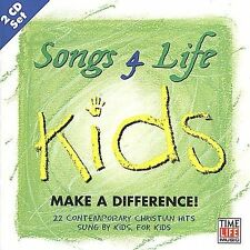Various Artists : Songs 4 Life: Kids Make a Difference CD