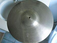 "18"" Vintage 60s Avedis Zildjian Cow Bell Crash Cymbal cowbell ride 1600g"