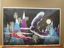 vintage El Condor Black light  Poster original 1970  2446