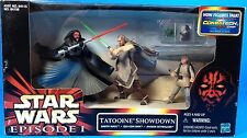 Star Wars Episode 1 TATOOINE SHOWDOWN CommTech Chip Anakin Maul Action Figure