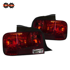 Ford Mustang 05-09 GT Base V6 V8 Saleen Sequential Tail Lights OE STYLE Red