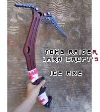 Tomb Raider LARA CROFT ICE AXE -- Life Size Prop Cosplay 1:1 Weapon Replica !!!!