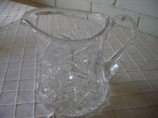 Antique Original Etched Crystal Crystal & Cut Glass