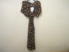 Diane Von Furstenberg Kelsey Polka Dot Flower Silk-Spandex-Blend Dress