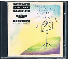 THE ROYAL PHILARMONIC ORCHESTRA PLAYS GENESIS HITS AND BALLADS  CD F.C.