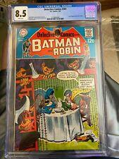 1969 Silver Age DC Comic Detective Comics #383 CGC graded 8.5 (VF+)