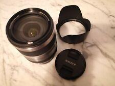 Objetivo Sony E-Mount Sel18200 18-200MM