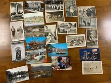 More details for 1950 / 60s bundle of 23 photo post cards some oriental hong kong & japan