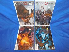 Dark Horse Comics God of War #1-4 Complete Series Set Lot 1 2 3 4