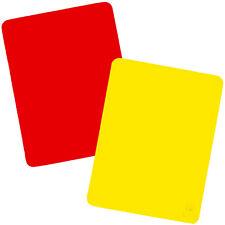 Saller Schiedsrichter-Karten einzeln | rote oder gelbe Disziplinarkarte