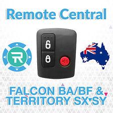 Ford BA BF Falcon Territory SX SY Ute/Wagon 02'-10' Car Remote 3 Button