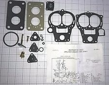 1964 74 CARB KIT SOLEX 1 BARREL OPEL 1.5/1.9L KADETTE GT S COUPE MANTA ETHANOL