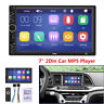 """Touch Screen Car In-Dash Radio Stereo 7"""" 2 Din FM/USB/AUX Bluetooth MP5 Player"""