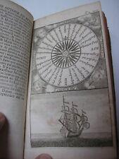 Voyage autour du MONDE DAMPIER T. II 1723 Traité des vents 9 gravures et cartes