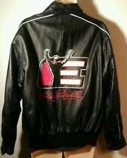 DALE Earnhard  Nascar Wilson Genuine Balck Leather Chase Authentic Jacket Large