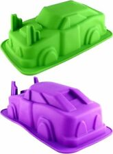 Silikonbackform Auto Car Groß 3D Motivbackform Kindergeburtstag Party Backen
