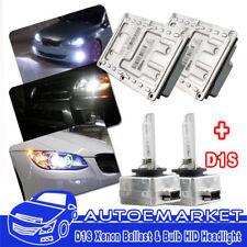 2x OEM 12 PIN Xenon HID Ballast + 2x D1S Bulbs For  AUDI VW SAAB JAGUAR CADILLAC