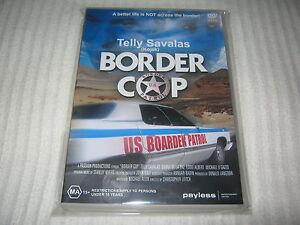 Border Cop - Telly Savalas - Brand New & Sealed - All Regions  - DVD