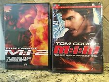 New Tom Cruise 2 Dvd Lot Mission Impossible 2 And 3 M:I-2 M:I:lll Action Pg-13