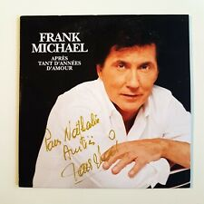FRANK MICHAEL - DEDICACÉ - APRES TANT D'ANNÉES D'AMOUR ♦ CD SINGLE ♦