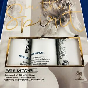 Paul Mitchell IN THE SPIRIT Gift Set Shampoo ONE Conditioner & Sculpting Spray