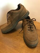 Mens Rockport Rocsports Size 7 Brown Suede  Leather Prowalker