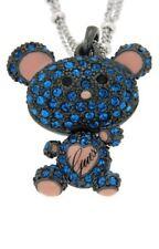 Guess ubn11232 collar osito en azul jewellery mejorofertarelojes