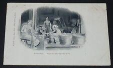 CPA 1900-1905 COLONIES FRANCE INDOCHINE COCHINCHINE REPAS DE DECORTIQUEUR DE RIZ