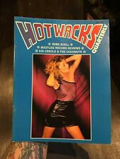 HOT WACKS QUARTERLY Magazine 1982 Issue 9 Vol 3 No 1 DEBI NEAL Cover