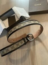 Gucci men belt size in photos by tape measure 100% genuine