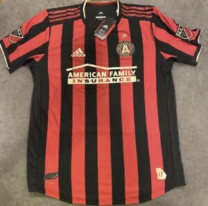 Adidas 2019 Atlanta FC United Home MLS Soccer Football Jersey Sz S CLIMACOOL NW