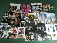 GIRLS ALOUD  - POP MUSIC- CLIPPINGS /CUTTINGS PACK
