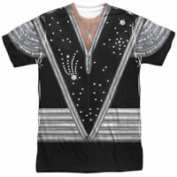 Authentic KISS Spaceman Ace Frehley Uniform Outfit Costume Allover Front T-shirt
