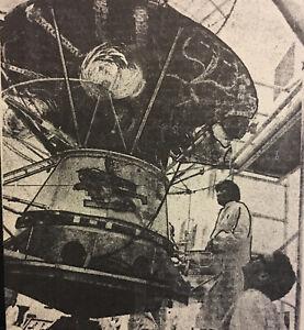 CANADA SATELLITE SPACE COVER- TELESAT A- 1972 SARZIN PICTURE CACHET