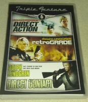 Triple Feature-Direct Contact, RetroGrade, Direct Contact  Dolph Lundgren dvd