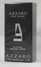 Azzaro Pour Homme 50 ml Eau de Toilette Spray Nachfüllbar