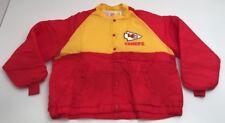 NEW Vtg Kansas City Chiefs Swingster Nylon Jacket NWOT Button Up XXL Deadstock